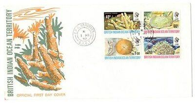 Stamps British Indian Ocean Terr. 1972 FDC with TPO postmark