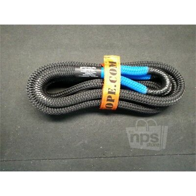 """Bubba Rope Tow Rope, 7/8"""" x 20 ft, Double-braided Nylon, 28,600 lbs. Strength"""