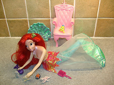 A Stunning Disney Ariel the Mermaid 30cm Doll with Accessories