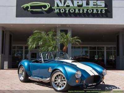 1965 Replica/Kit Makes 427 Shelby Cobra Replica 1965 Replica/Kit BackDraft Racing 427 Shelby Cobra Replica 5 Speed Manual 2-Door