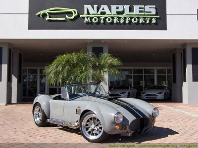 1965 Replica/Kit Makes  1965 Replica/Kit BackDraft Racing 427 Shelby Cobra Replica 5 Speed Manual 2-Door