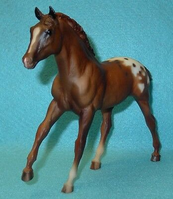 Breyer Traditional Cute Sorrel Blanket Action Stock Horse Foal #763 New 99-01