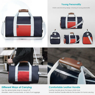 5f4f6c6f8f REYLEO Duffel Bag Men Women Small Gym Bags Nylon Weekender Travel Tote With.