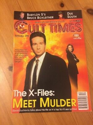 Cult Times September 1996 The X Files TV Sci Fi