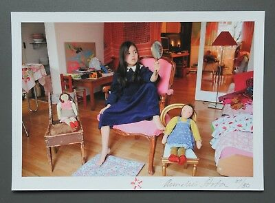 Annelies Strba Original Signed Photo Print 24x17 Signiert Buch Book Noonday 2015