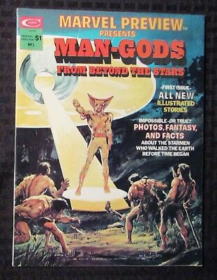1975 MARVEL PREVIEW Magazine #1 FN+ 6.5 Man-Gods / Neal Adams Cover