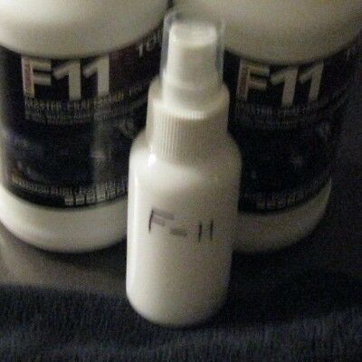 F11 TOPCOAT 2 oz. Bottle & Microfiber Towel F-11 TOP COAT SUPER CAR SAVER WAX $$