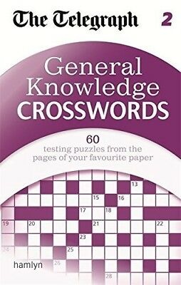 The Telegraph: General Knowledge Crosswords 2 (The Telegraph Puzzle Books), New