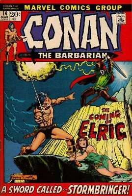 Conan the Barbarian (1970 series) #14 in Very Good + condition. FREE bag/board