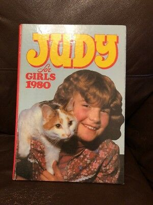 VINTAGE JUDY GIRLS COMIC ANNUAL 1980's 1980 MUSIC STORIES PUZZLES