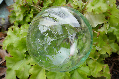 Clear British Made authentic glass fishing float