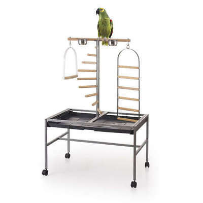 The Parrot Bird Play Stand with Ladder and Swing