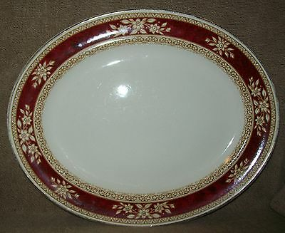 "LARGE, WR MIDWINTER ""ROCKWOOD' PLATTER (Burslem, England)"