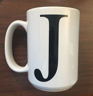 "New Personalized Mug - ""J"" by personalcreations.com"