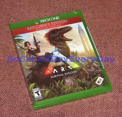 ARK: Survival Evolved EXPLORER'S Edition with Season Pass (Xbox One) BRAND NEW!!