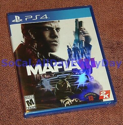 Mafia III 3 (PlayStation 4) ***BRAND NEW & FACTORY SEALED*** Free Shipping!! ps4