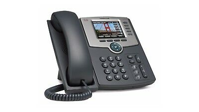 *NEW* SPA525G2 Cisco 5-LINE IP PHONE W/COLOR DISP POE 802.11G
