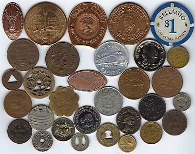Lot of Tokens, Medals and Miscellaneous Exonumia