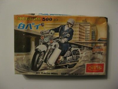 Nitto 1/15 Scale--Meguro 500Cc Motorcycle---Complete In Opened Box---$4.95 Ship