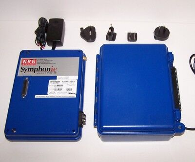 NRG Systems Lot of Symphonie Plus Data Logger, Modem, iPack Charger S3614 Nice!
