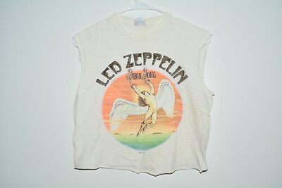 Led Zeppelin Vintage 1984 T-Shirt Small S Band 80s Distressed