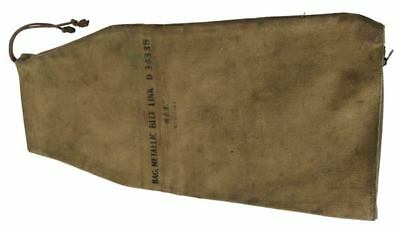 Original WWII US Issue M-2 Metallic Link Bag with zippered bottom