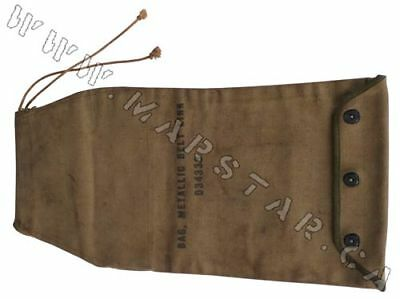 Original WWII US Early Issue M-2 Metallic Link Bag with snaps
