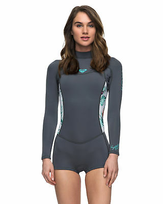 8b3180406d NEW ROXY™ Womens 2 2mm Syncro Series Long Sleeve Springsuit Wetsuit 2017  Womens
