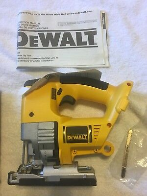 Dewalt dw933 cordless variable speed jig saw tool only 33519 dewalt dw933 cordless variable speed jig saw nicd new bare tool greentooth Image collections
