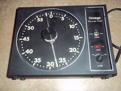 Omega Pro Lab Darkroom Enlargement Timer No 461-030 Very Nice Works Great