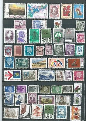 Turkey. Selection Of 54.  Fine Used. .  As Per Scan