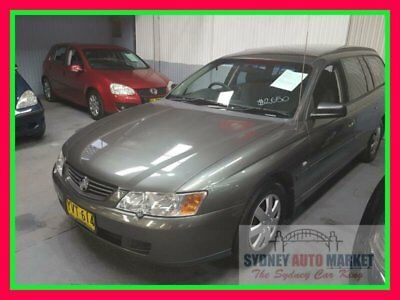 2003 Holden Commodore VY Executive Grey Automatic A Wagon