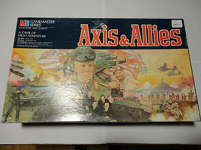 Axis and Allies 1981 rare vintage