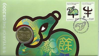 2009 PNC Year of the Ox Cost $14.95 ex Post Office  As Issued Value Here