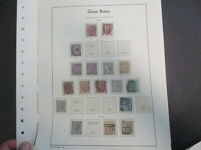 UK Stamps: High End Collection Mint and Used on pages AMAZING Must see!   (R123)