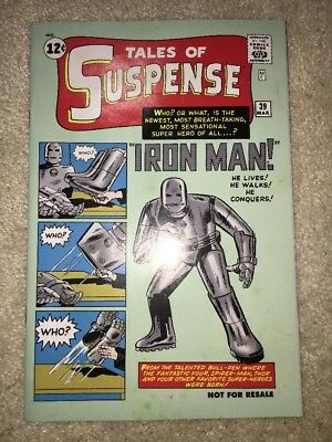 Tales of Suspense # 39 1st Appearance of Iron Man Marvel Legends Reprint