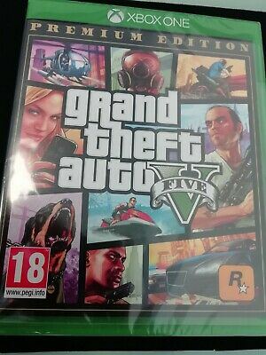 Brand New Sealed Grand Theft Auto V 5-Xbox One- PAL-Free Delivery