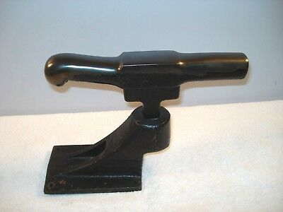 "Dixon No.3 Artisan Silversmith Blacksmith T-Stake Anvil with Base ""Sweet"""