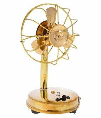 Antique Polish Tiny Brass Functional Table Desk Home Décor Fan Decor Item BF 03