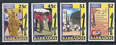 Barbados 2001 35th Anniv.of Independance SG1198/01 MNH