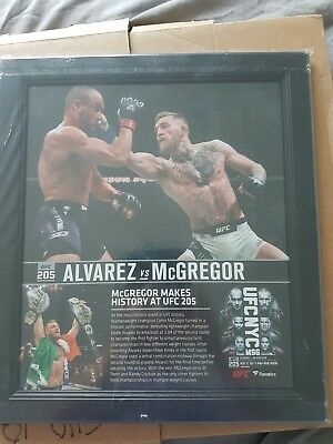 "Connor Mcgregor UFC 205 plaque rare new. MMA collectable.  15"" x 17""   WWE"