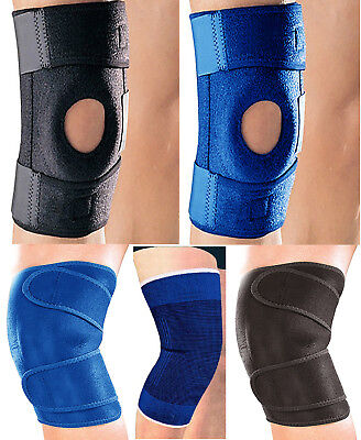 Neoprene Patella stabilising Brace Open Knee Belt Support Adjustable Strap NHS
