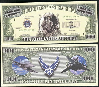 US AIR FORCE Novelty Bill, Funny Money