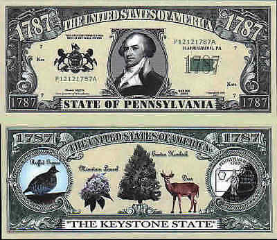 PENNSYLVANIA, STATE OF, Novelty Bill, Funny Money