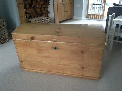 antique wooden chest dome top