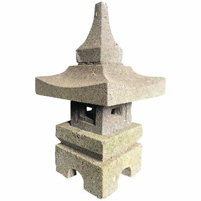 Japan Stone Tea Garden Lantern, Small Portable Size