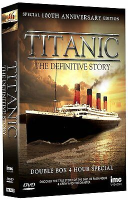 Titanic - The Definitive Story - Special 100th Anniversary Edition [2x DVD] NEU