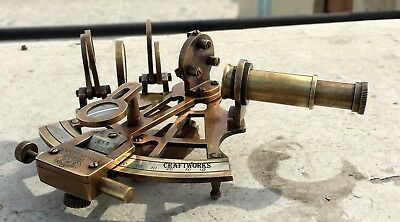 Vintage Ship Nautical Astrolabe Brass Dly Sextant Maritime Marine Sextant Gift