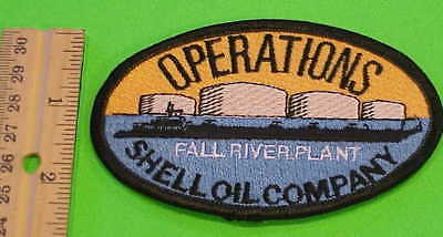 Operations Shell Oil Company  Fall River Plant (Oil Barge) New  Free Shipping !!