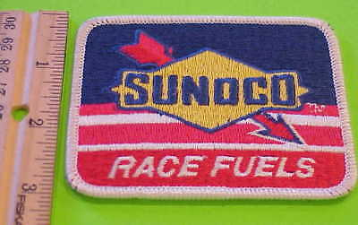 Sunoco   Race   Fuels   Patch     New   Free  Shipping  !!!